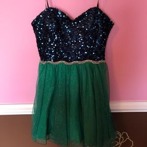 Sequin and Tulle party dress